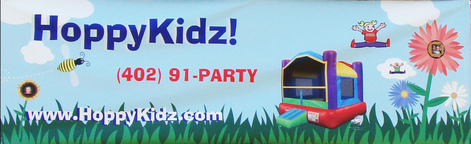 HoppyKidz rents bouncy castles, jumpy houses, moonwalks, pony hops, and more throughout the Omaha Metro area